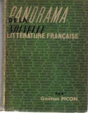 Panorama de la nouvelle littérature française - Couverture - Format classique