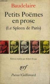 Petits Poemes En Prose. ( Le Spleen De Paris ) .Collection : Poesie. - Couverture - Format classique