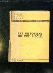 Les Historiens Du Xix Siecle. - Couverture - Format classique
