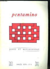 Pentamino N° 2. Jouez Et Reflechissez. - Couverture - Format classique