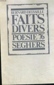 Faits divers - poésie 76 - Couverture - Format classique