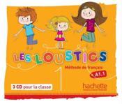 Les loustics 1 ; CD audio pour la classe - Couverture - Format classique