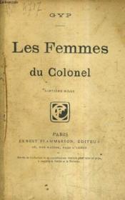 Les Femmes Du Colonel. - Couverture - Format classique