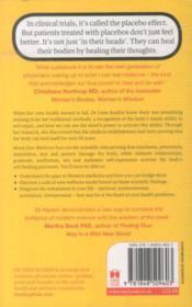 Mind Over Medicine - Scientific Proof That You Can Heal Yourself - 4ème de couverture - Format classique