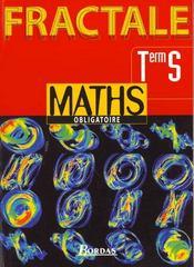 Maths obligatoire eleve fractale terminale s - Intérieur - Format classique