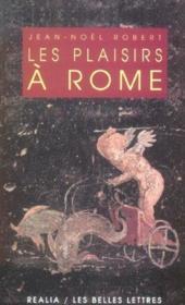 Plaisirs a rome (les) (édition 2005) - Couverture - Format classique