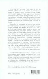 Plaisirs a rome (les) (édition 2005) - 4ème de couverture - Format classique
