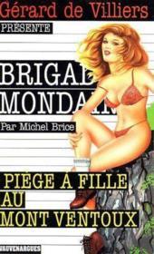 Brigade mondaine t.233 ; piège à fille au mont Ventoux - Couverture - Format classique