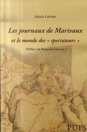 Les journaux de Marivaux et le monde des spectateurs - Intérieur - Format classique