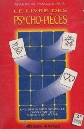 Livre Des Psycho-Pieces - Couverture - Format classique