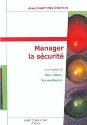 Manager La Securite - Intérieur - Format classique