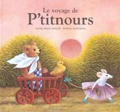Le Voyage De P'Titnours - 4ème de couverture - Format classique