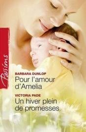 Pour l'amour d'Amélia ; un hiver plein de promesses - Couverture - Format classique