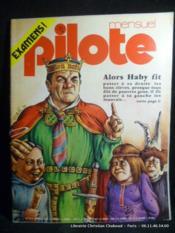 Revue Pilote n°13. Alors Haby fit... Couverture par Solé - Couverture - Format classique