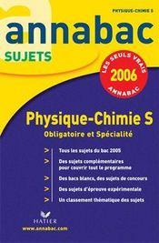 Annabac Sujets T.7 (édition 2006) - Intérieur - Format classique