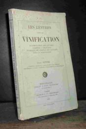 Les Levures Dans La Vinification - Couverture - Format classique