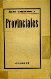 Provinciales. - Couverture - Format classique