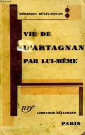 Vie De D'Artagnan Par Lui Meme. - Couverture - Format classique
