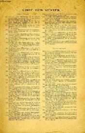 ANNUAIRE DES VENTES DE LIVRES, 1re ANNEE, OCT. 1918 - JUILLET 1920 - Couverture - Format classique
