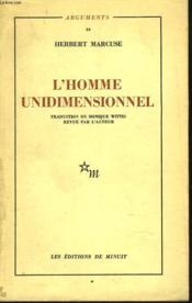 L'Homme Unidimensionnel - Couverture - Format classique