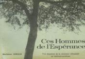 Ces Hommes De L'Esperance - Couverture - Format classique