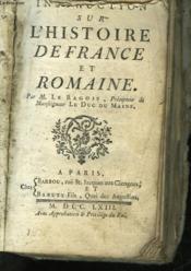 Instruction Sur L'Histoire De France Et Romaine - Couverture - Format classique