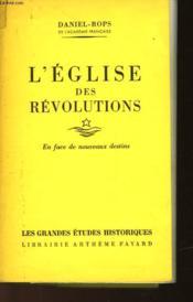 L'Eglise Des Revolutions - Couverture - Format classique