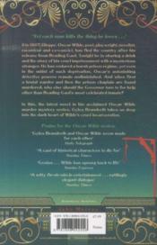 Oscar Wilde And The Murders At Reading Gaol - 4ème de couverture - Format classique