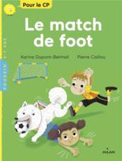 Le match de foot - Couverture - Format classique
