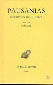 Description de la Grèce t.8 ; L8 - Couverture - Format classique