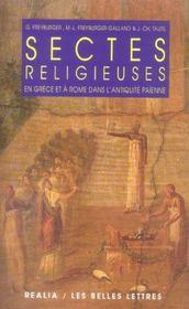 Sectes religieuses en Grèce et à Rome dans l'antiquité païenne - Intérieur - Format classique