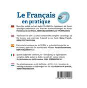Le français en pratique - 4ème de couverture - Format classique
