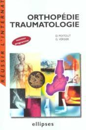 Orthopedie Traumatologie Nouveau Programme - Couverture - Format classique