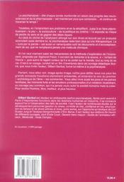 Sigmund Freud ; l'homme, le médecin et le psychanaliste - 4ème de couverture - Format classique