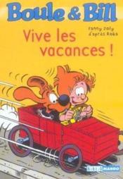 Boule et Bill ; vive les vacances ! - Couverture - Format classique
