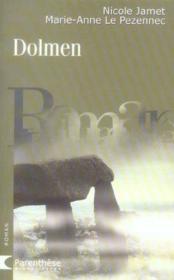Dolmen - Couverture - Format classique