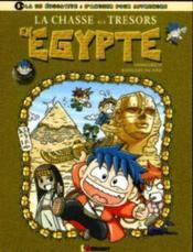 La chasse aux trésors en égypte - Couverture - Format classique