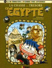 La chasse aux trésors en égypte - Intérieur - Format classique