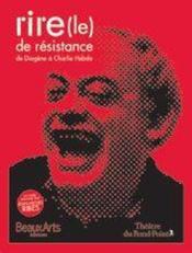 Rire de résistance - Couverture - Format classique