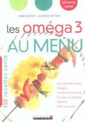 Omega 3 Au Menu (Les) - Intérieur - Format classique