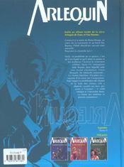 Arlequin t.4 ; la suite 13 - 4ème de couverture - Format classique
