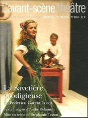 La savetière prodigieuse - Couverture - Format classique