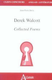 Derek walcott - Intérieur - Format classique