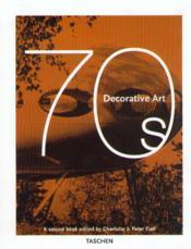 Decorative art 1970s-trilingue - Couverture - Format classique