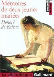 Mémoires de deux jeunes mariées - Intérieur - Format classique