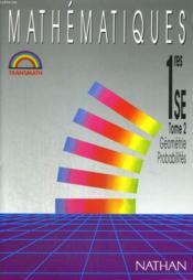 Transmath 1re Se Geometrie Probalites Eleve T.2 - Couverture - Format classique
