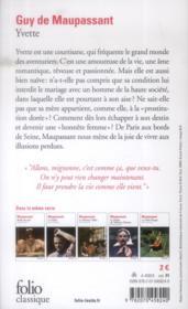 Yvette - 4ème de couverture - Format classique