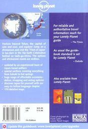 Japon ; 7e Edition ; Anglais - 4ème de couverture - Format classique
