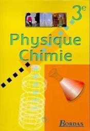 Physiq chimie bordas 3e ele 99 - Couverture - Format classique