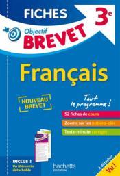 Objectif Brevet 3eme Fiches Detachables Francais Isabelle De Lisle Acheter Occasion 24 08 2016